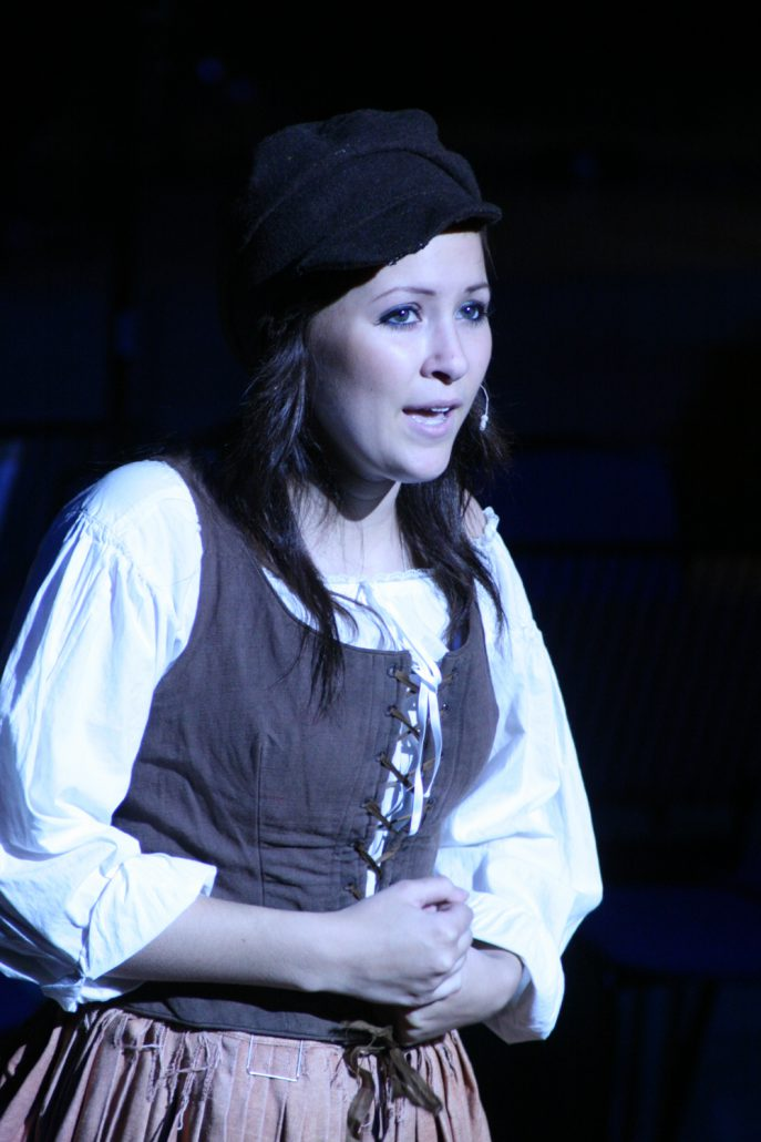 Camden Cox in Les Miserables