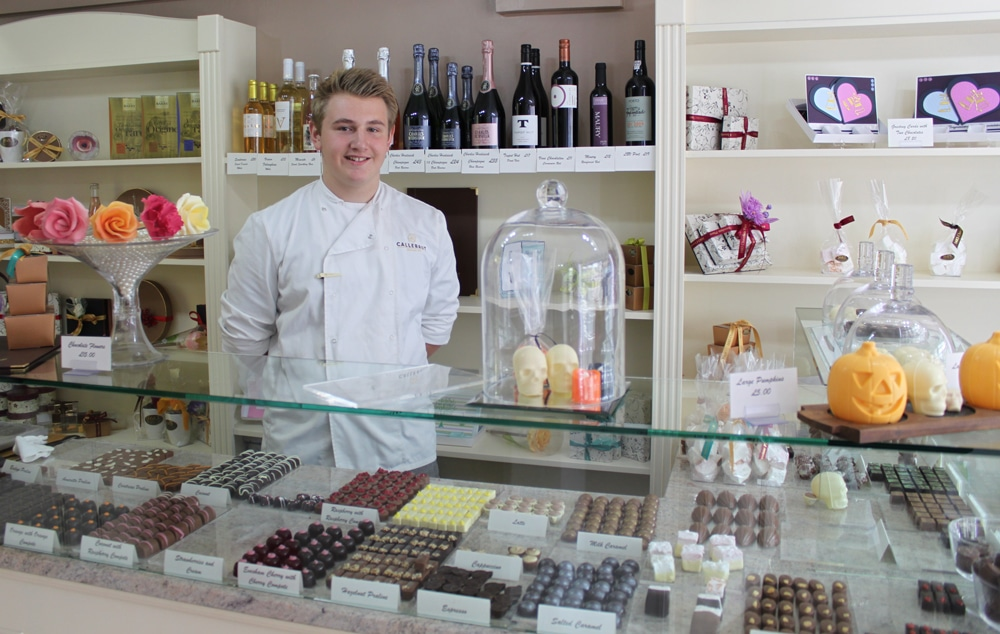 Joseph Vaughan Chocolatier Business Administration Apprentice