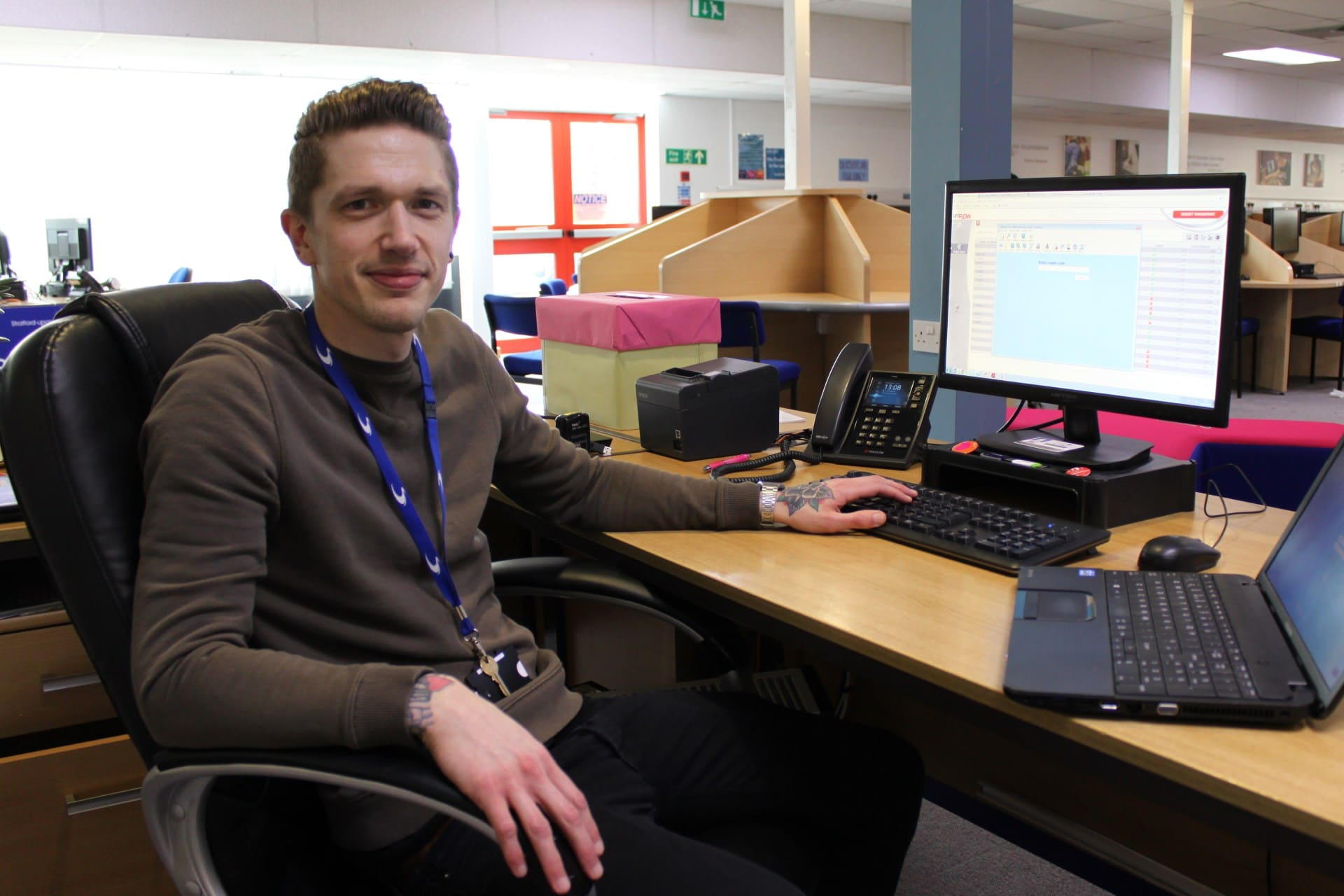 Business Administration Apprentice Martin Dunsby