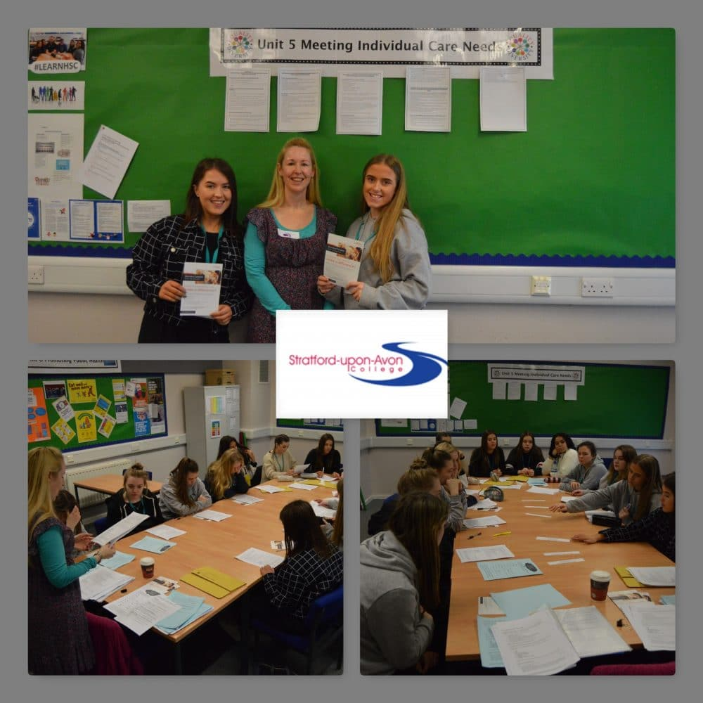 Health and social care train for industry | Stratford-upon-Avon College