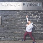 Ellie Upstone at Uni crop