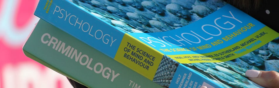 Psychology and Criminology books